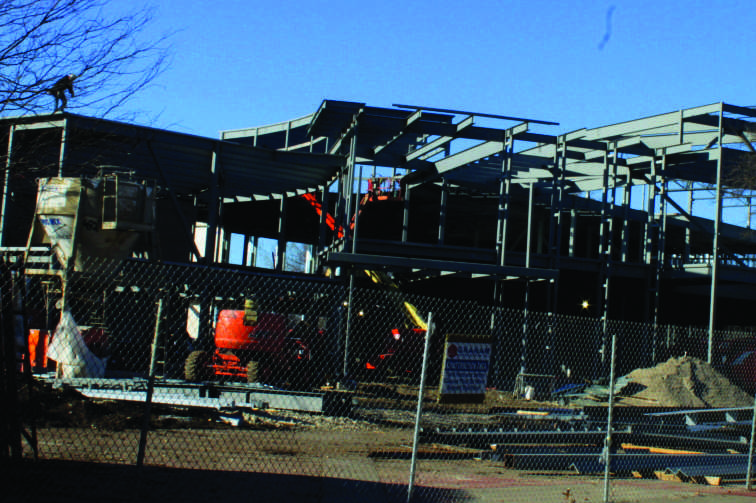 Kent Campus Center construction is on schedule