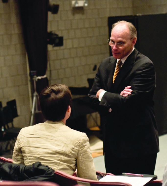 President and Dean meet with music department