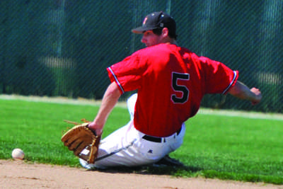 Simpson baseball opens conference with wins