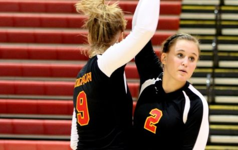 Volleyball team suffers home losses