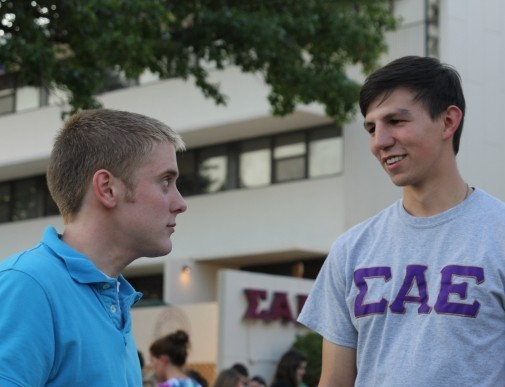 Fraternities switch to informal recruitment process