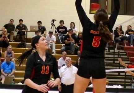 Volleyball falls to Wartburg