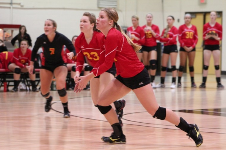 Young volleyball team used season to build experience