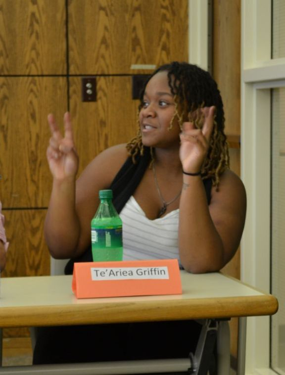 Students and faculty have discussion on ethnic stereotypes
