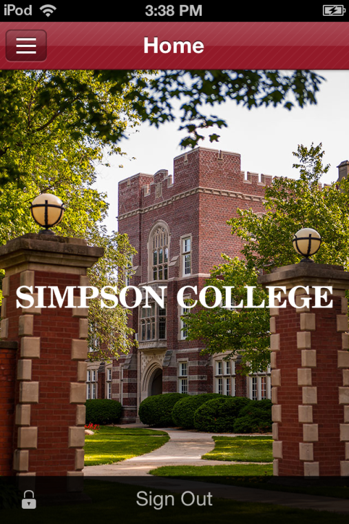 New mobile app for Simpson College