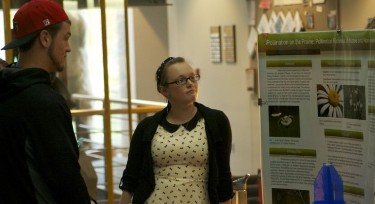 Students present in Summer Research Symposium