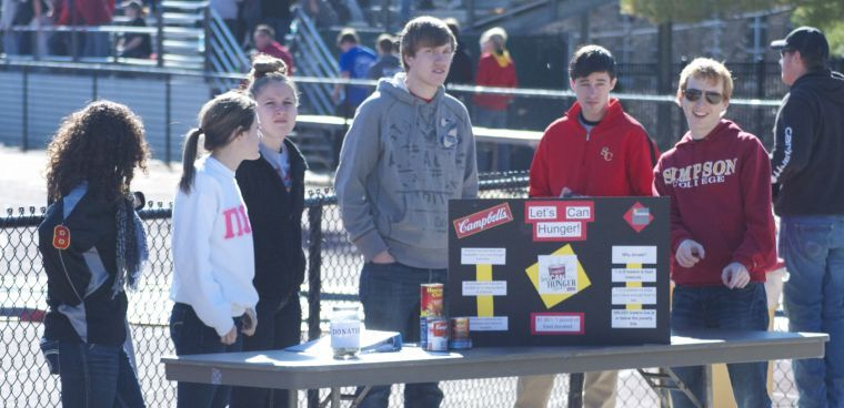 Student organization hoping to battle hunger