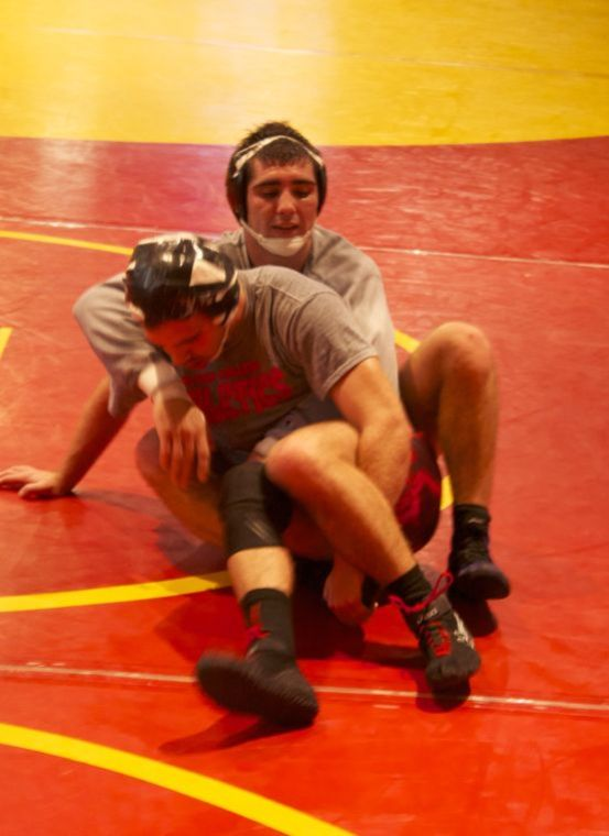 Wrestling team ready for first competition