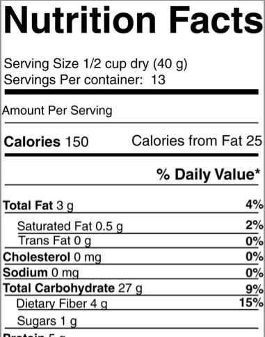 FDA makes changes to food labels
