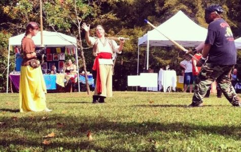Students learn about pagan pride at annual Pagan Pride Fair