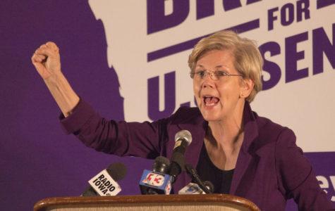 Sen. Elizabeth Warren talks college affordability at Bruce Braley event