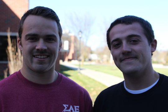 Getting hairy on campus, raising awareness of disease