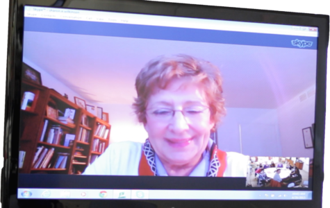 A Skype with history: Students use technology to interact with a survivor of the Holocaust to learn culture, language and life lessons