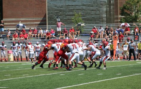 Football aims for turnaround year after week one win