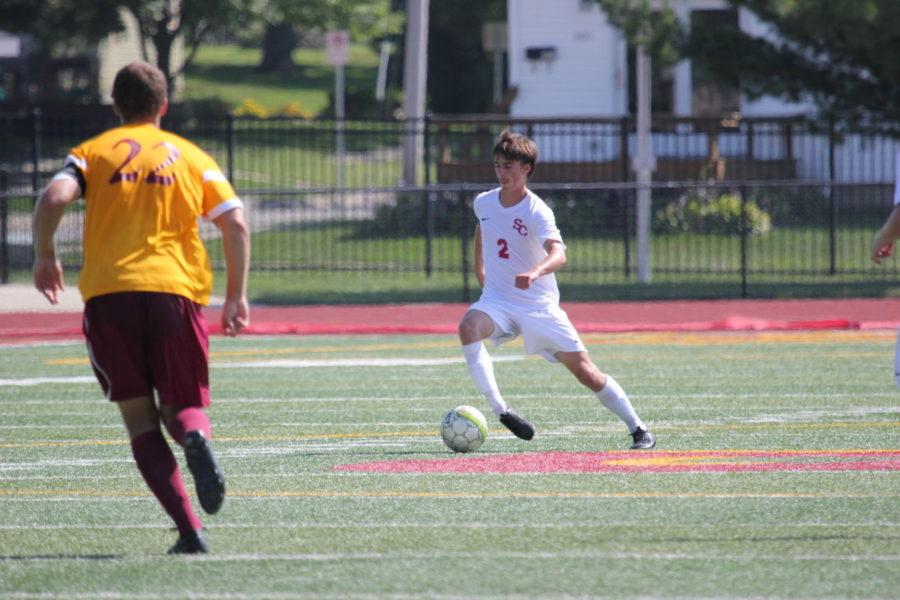 Men's Soccer settles for draw at Bethel