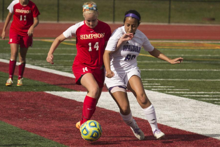 Simpson women's soccer fails to extinguish the Flames