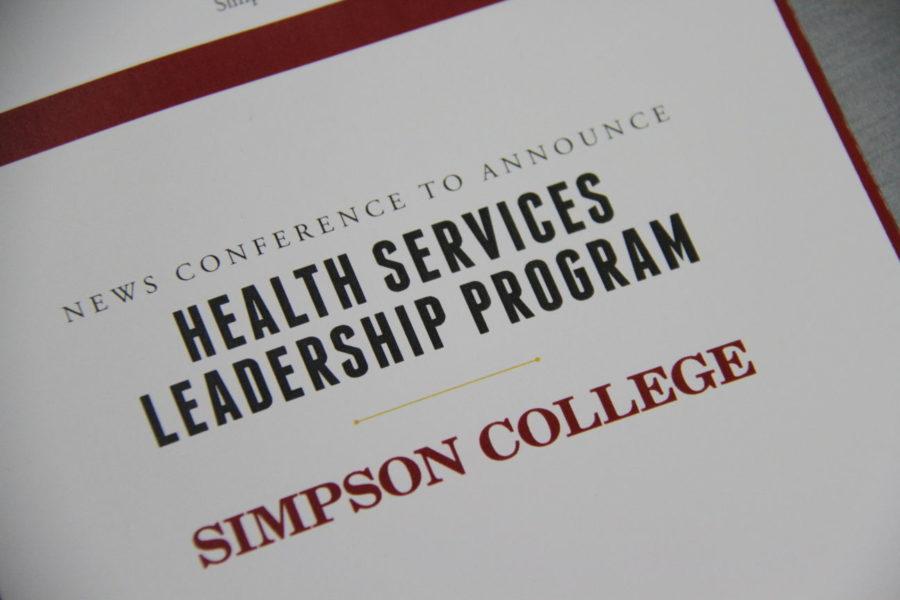 Simpson+College+announces+Health+Services+Leadership+program