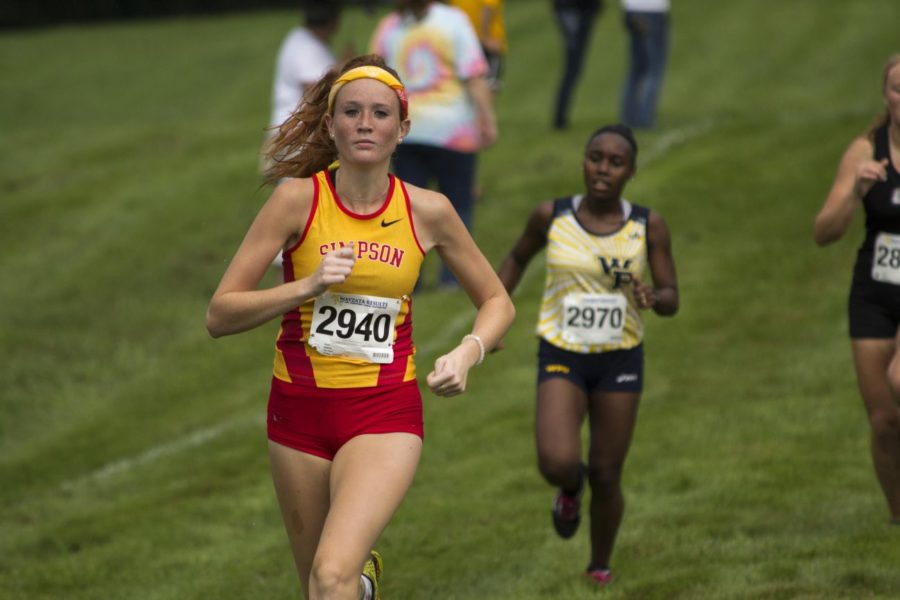 Timms headlines women's runners, men post 4th place finish