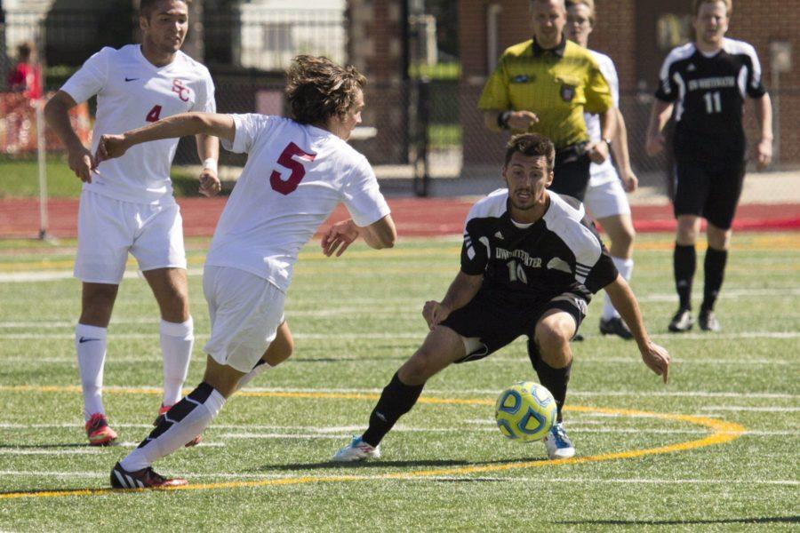 Men's soccer clipped by No. 11 UW-Whitewater, Stanko