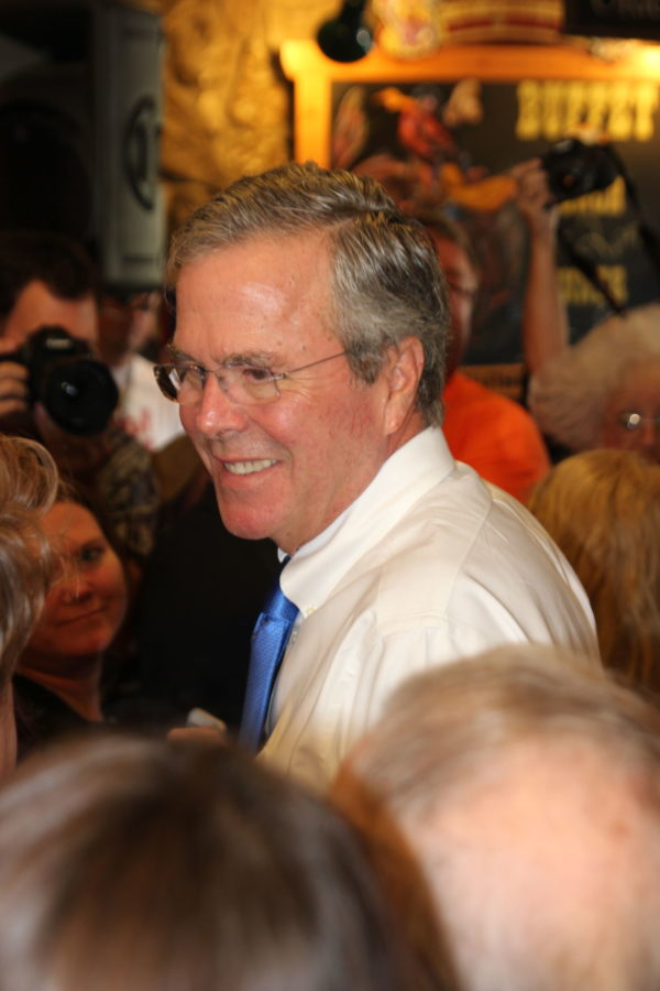Jeb Bush answers to Simpson College students about education