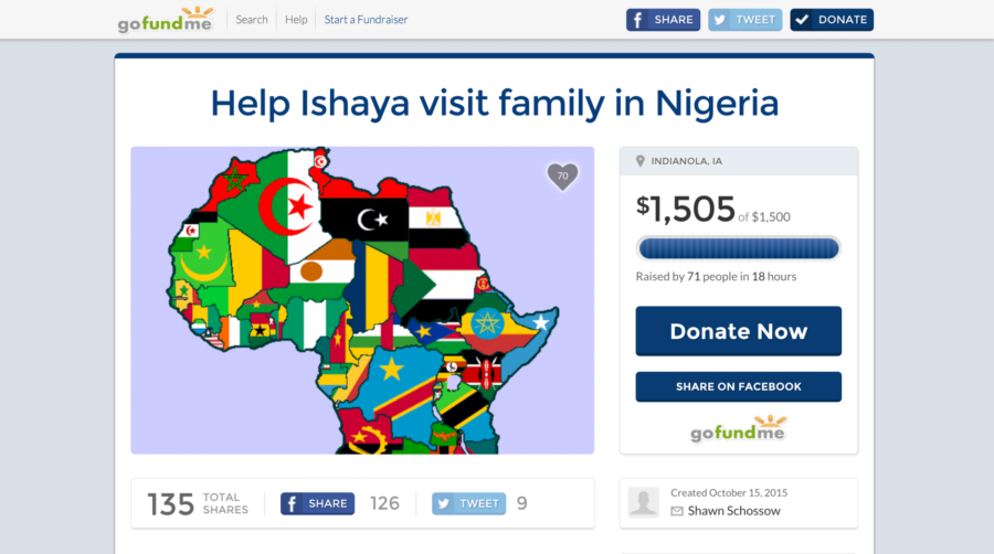 UPDATE: Fundraiser set up for Ishaya David reaches goal in less than 24 hours