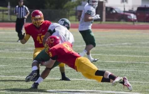 """""""It's kind of like arena football"""" – Simpson faces D III's best passing attack on Saturday"""