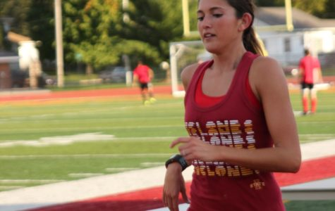 Diemer turns love of running into spot on XC team