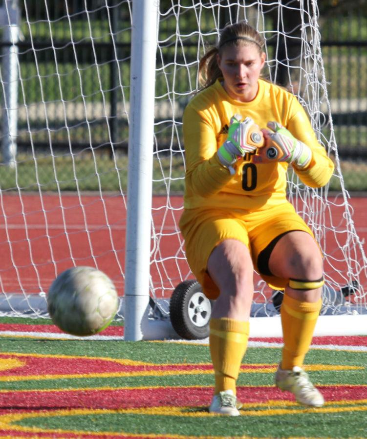 Goalkeeper steps up in freshman season, has eyes set on future