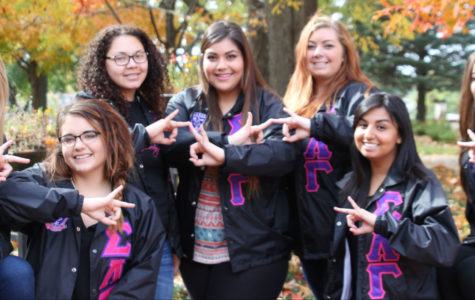 New sorority on campus makes debut in style