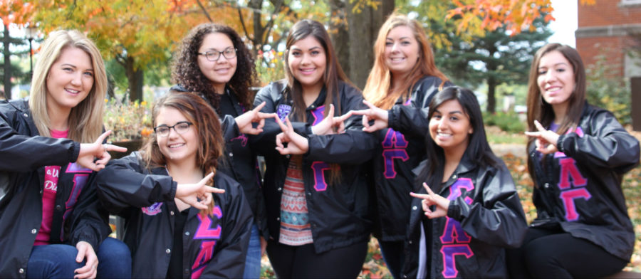 New+sorority+on+campus+makes+debut+in+style