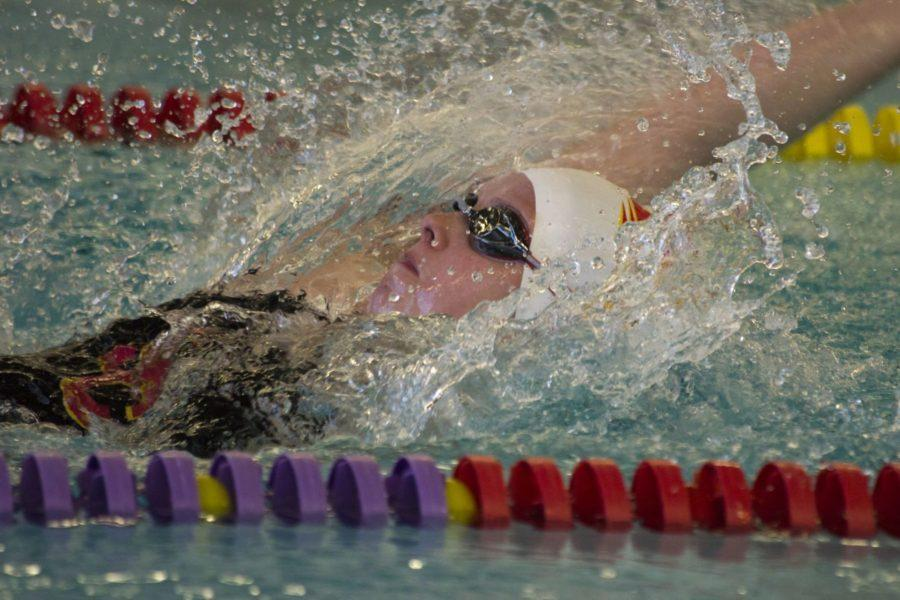 Swimming swept by Loras in conference dual
