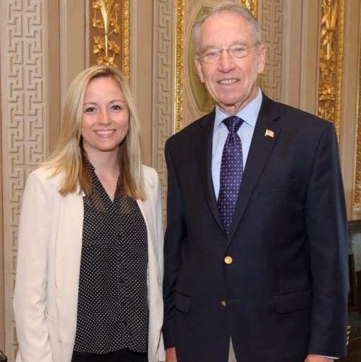 Simpson senior interns in Congress over summer