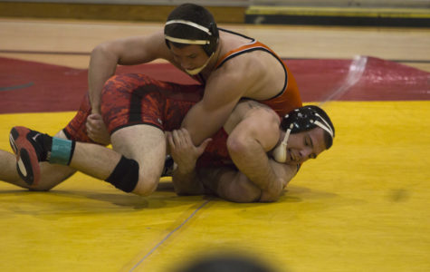 Wrestling team looking to pin down at the top
