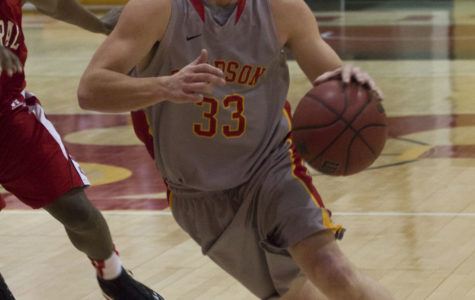 Men's basketball grinds out win over Rhodes