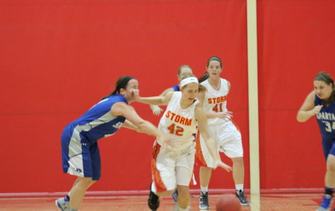Women rally back, Amsbaugh and Gretzky light it up in basketball sweep at Central
