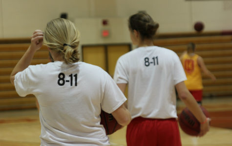 '8-11' shirts provide motivation for women's basketball