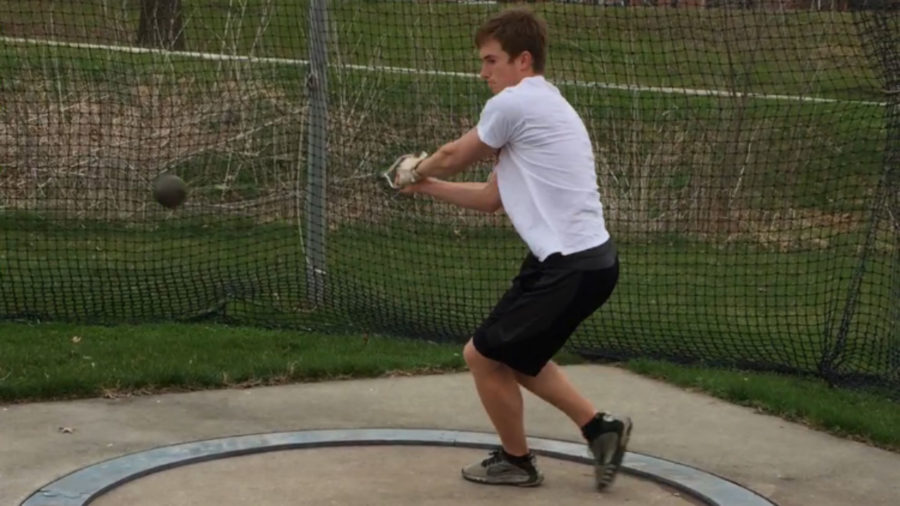 Simpson's sole, unlikely hammer thrower makes progress