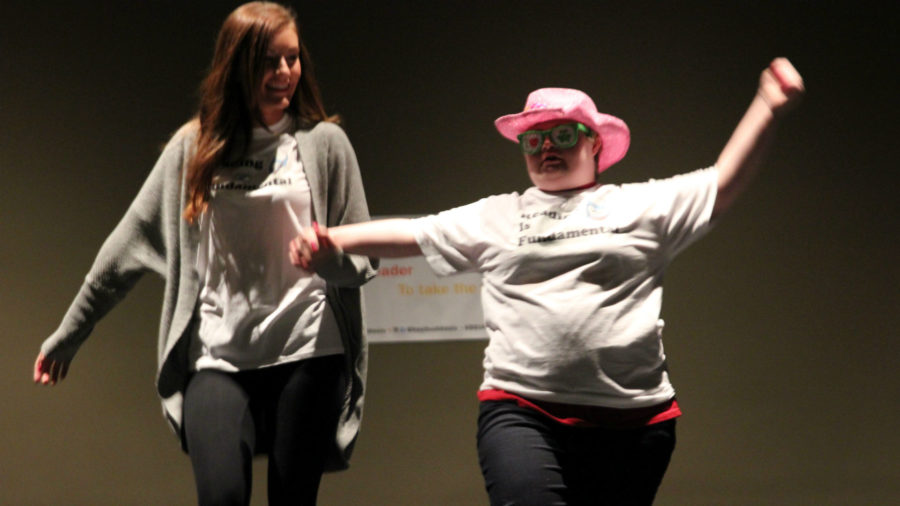 Best Buddies fashion show ending 'the word'