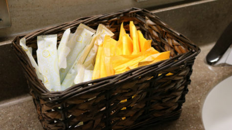 Feminine hygiene products will be more readily available around campus for students.