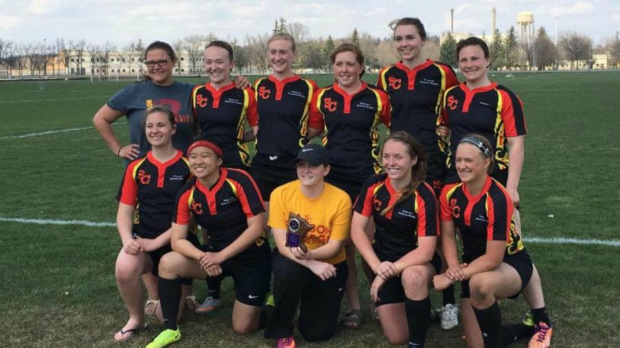 Women's rugby team heads to nationals