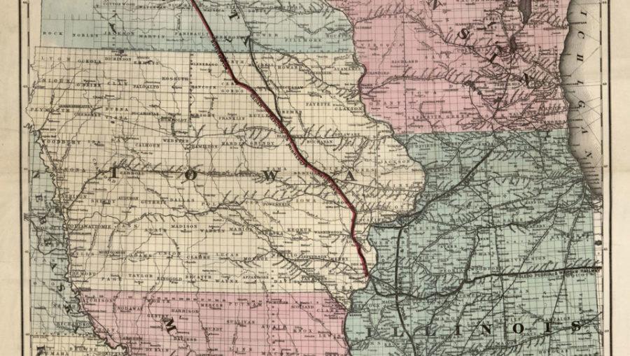 Iowa+History+Center+to+Showcase+Exhibition+of+Antique+Maps