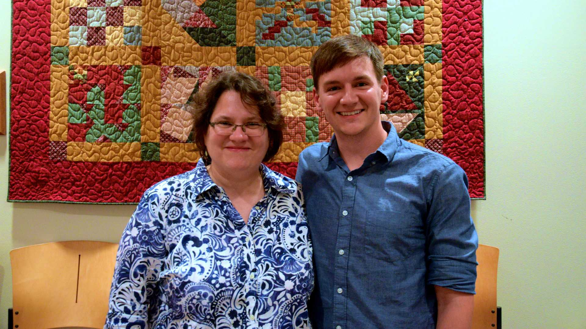 Sam Ross inspired many students and faculty, including CoryAnne Harrigan, a professor of English. Harrigan has known Ross since she was in graduate school and babysat Ross.