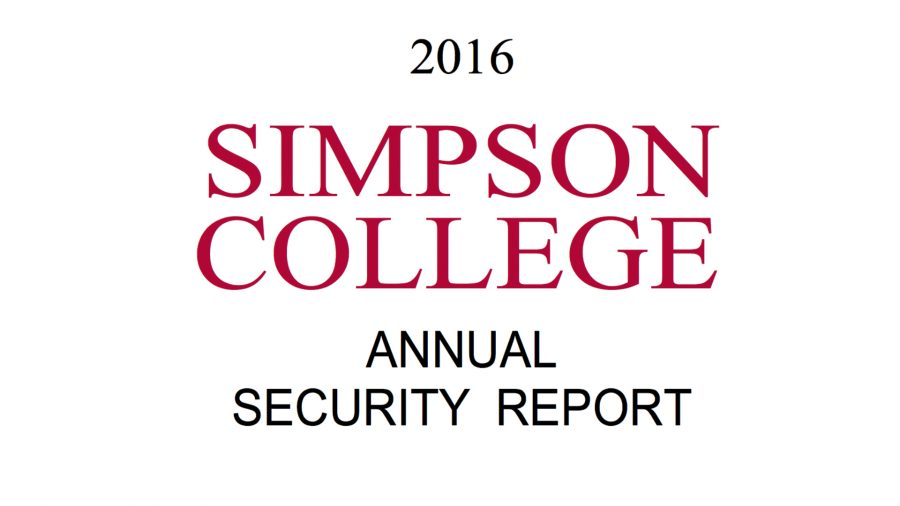 Simpson College security officials release campus crime, fire reports