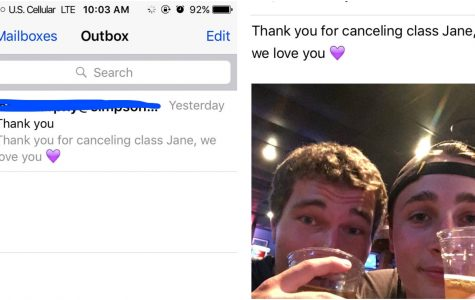 Simpson student crafts drunken email to professor, but Wi-Fi god saves him