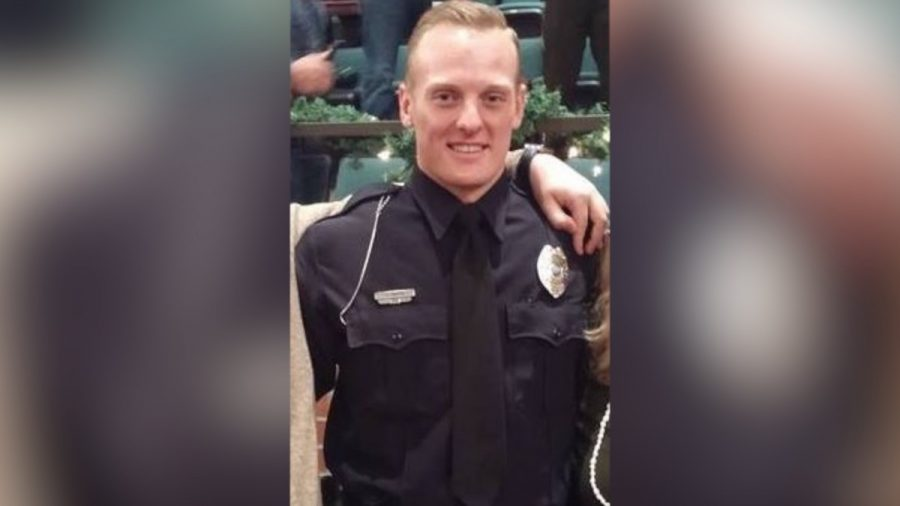 Urbandale police Officer Justin Martin