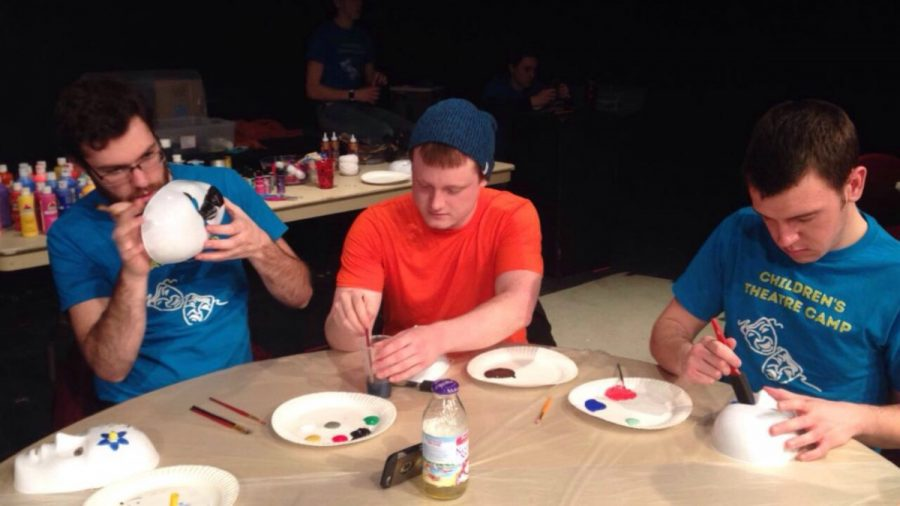 Putting the spotlight on Alpha Psi Omega theater fraternity