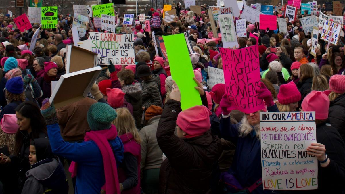 Organizers of the Women's March in January called for