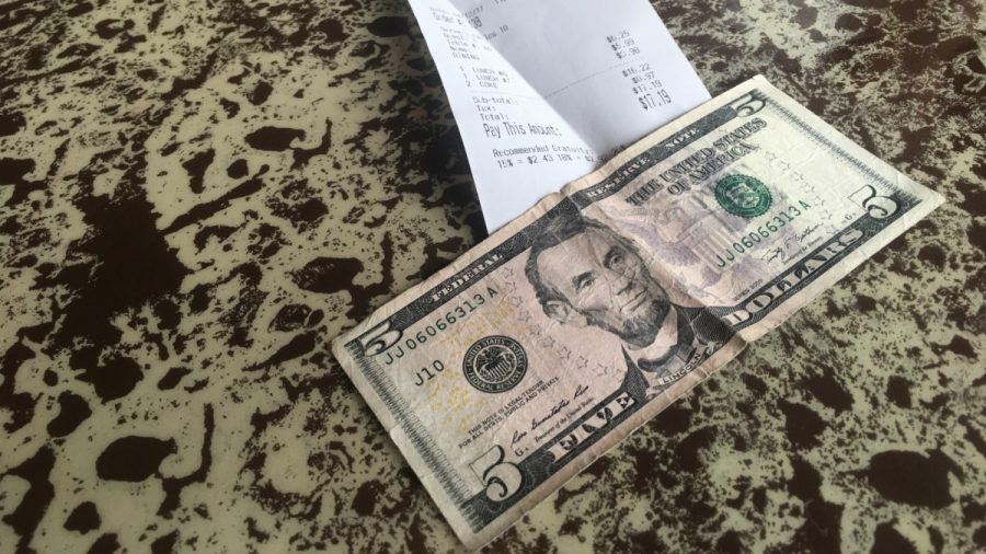 Tipped off: A look at college students' tipping habits
