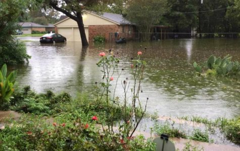Hurricane Harvey hits home for Simpson students from Texas