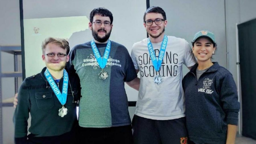 Taking programming to a new level: Simpson wins hackathon